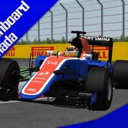 rFactor F1 2016 Wehrlein Onboard Canada