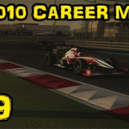 F1 2010 Career - Race 19 - Abu Dhabi - Season 1 Finale!
