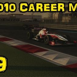 F1 2010 Career - Race 19 - Abu Dhabi - Season 1 Finale!