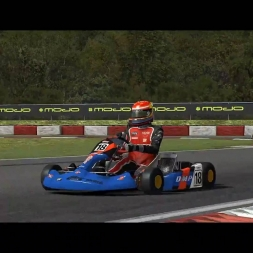 rFactor 2: Genk Karting WIP: AI first race