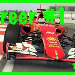 WHAT A START!   F1 2016 mod career mode #1