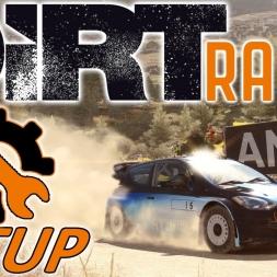 DiRT Rally w/ Controller -Hyundai - Greece - Setup - Mods - 1440p
