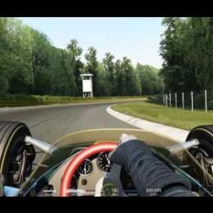 Assetto Corsa Special Event Classic Run Achievement Gold Lotus 49 @ Monza 1966 1:29:571 min