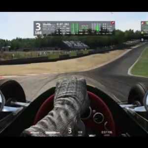 Assetto Corsa Chapman revolution Achievement Gold Lotus Type 25 @ Brands Hatch Indy 0:57:706 min