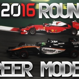 F1 2016 Career Mode Round 7 Canada