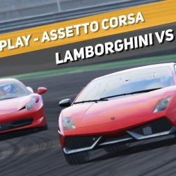 Assetto Corsa - Lamborghini vs Ferrari - Monza