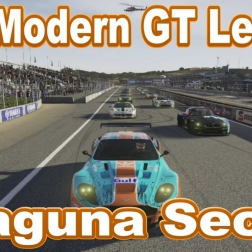 The Modern GT league at Laguna Seca