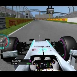 rFactor F1 2016 - Lewis Hamilton Onboard in Montreal