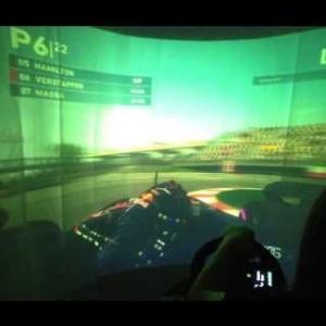 Max Verstappen Canada F1 2016 - Race Sim