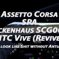 Assetto Corsa - Spa - Glickenhaus SCG003C - Gold - HTC Vive