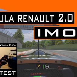 iRacing Formula Renault 2.0 @ Imola | PRIMERAS VUELTAS