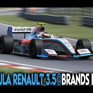 Project Cars [ONLINE] : Formula Renault 3.5 @ Brands Hatch