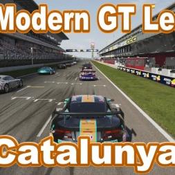 The Modern GT League at Catalunya