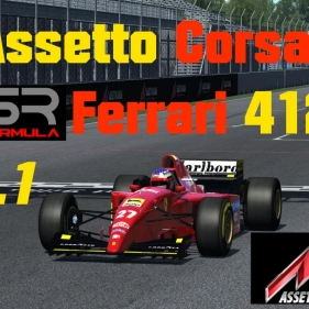 Assetto Corsa // [BETA] MOD ASR Formula : Ferrari 412T2 V0.1 // Canadian Grand Prix