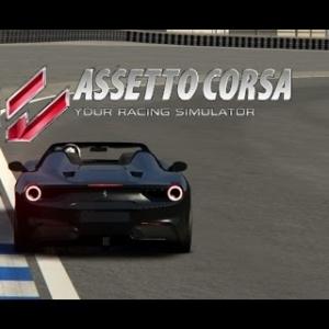 Assetto Corsa - Ferrari 488 GTB Spyder @ Laguna Seca