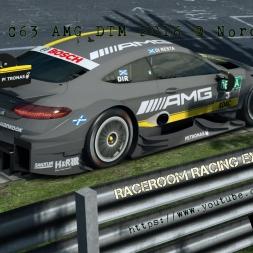 Mercedes C63 AMG DTM 2016 at Nordschleife - RaceRoom [1440P/Ultra]