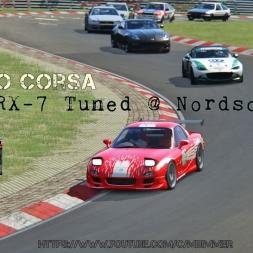 [1440P] Assetto Corsa - Mazda RX7 tuned @ Nordschleife | Ultra