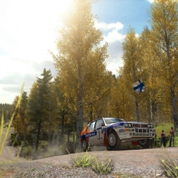 Dirt Rally Lancia Delta HF Integrale Paskury top 100