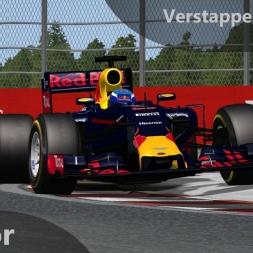 rFactor F1 2016 Verstappen Onboard Montreal