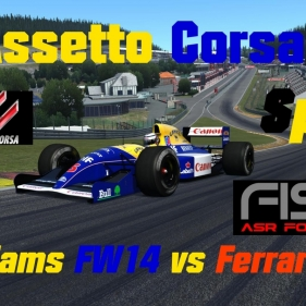 Assetto Corsa // [BETA] ASR Formula 1991 // Ferrari 543 vs Williams FW14