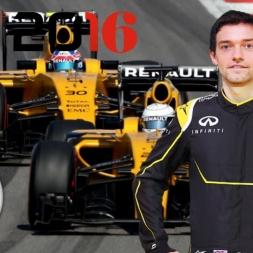 F1 2016 Japanese GP Jolyon Palmer Season Career Mode