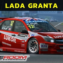 Raceroom - Lada Granta em Moscou