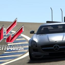 Assetto Corsa - Mercedes SLS AMG @ Laguna Seca