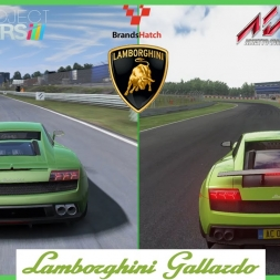 ★ Assetto Corsa VS Project CARS - Lamborghini Gallardo at Brands Hatch