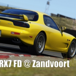 Mazda RX 7 FD @ Zandvoort - Assetto Corsa