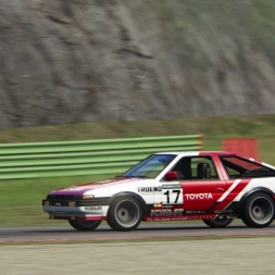 Toyota AE86 @ Vallelunga Test Lap - Assetto Corsa