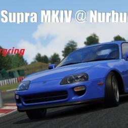 Toyota Supra @Nurburgring