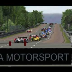 44 car! | PSRL WEC 2013 | 12 Hours of Le Mans