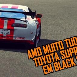 Toyota Supra MKIV @ Black Wood - Amazing car/track combination!