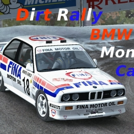 Dirt Rally // Time attack 9 // BMW M3 E30 // Monte-Carlo