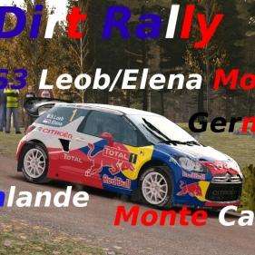 Dirt Rally // DS3 WRC MOD // Finlande-Germany-Monte Carlo