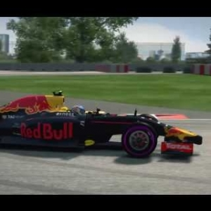 Max Verstappen - Canada F1 2014 VR - 2016 Season Mod HD Red Bull Heineken Update