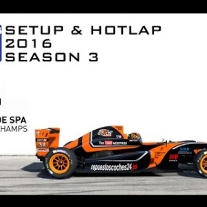 iRacing Formula Renault 2.0 @ Spa | Setup & Hotlap 2'17.888 | Season 3 - 2016