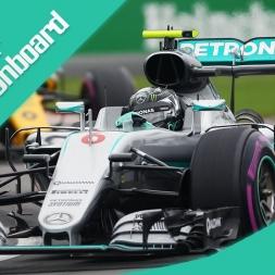 rFactor F1 2016 Rosberg Onboard Canada