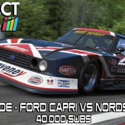 HEEL & TOE - Ford Capri Vs Nordschleife - 40.000 Subs