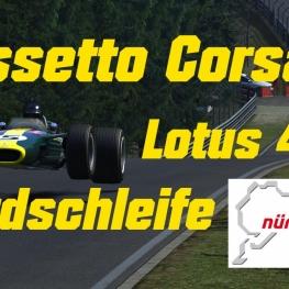 Assetto Corsa // Jim Clark's Lotus 49 // Nordschleife