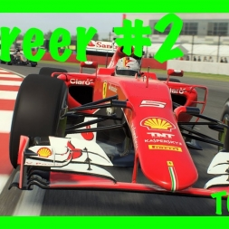 BAD START TURNS OUT GREAT! F1 2016 mod career mode #2
