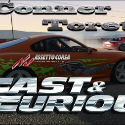Assetto Corsa Fast & Furious- O'Conner Vs Toretto Part 2