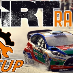 DiRT Rally - Ford Fiesta RS - Sweden - Controller - Mods - 1440p