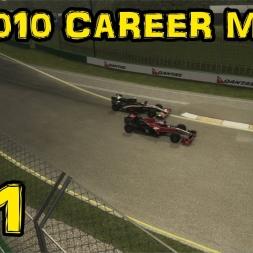 F1 2010 Career - S2R2 - Australia - Virgin for The Season?