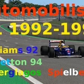 Automobilista // MODS [GSCE] F1 1992 1994