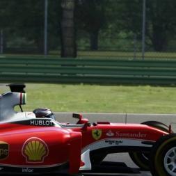 F1 Ferrari 2016 @ Imola