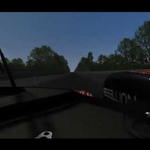 2016 WEC Assetto Corsa | Rebellion R-One AER onboard Le Mans (Sarthe)