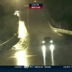 BIG SAFETY CAR MOMENT DRIFT ON RED FLAG 24H LE MANS