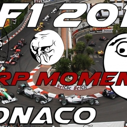Derp Moments | F1 2011 Monaco Track record attempt
