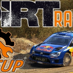 DiRT Rally w/ Controller - VW Polo - Greece - Mods - Setup Sunday